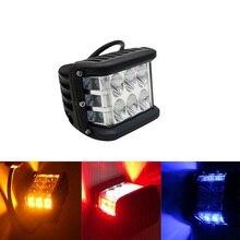 Side Shoot LED Work lights 4 Inch Side Strobe Lamp Combo Driving Fog Lamp For Jeep Hummer Off Road 1PCS