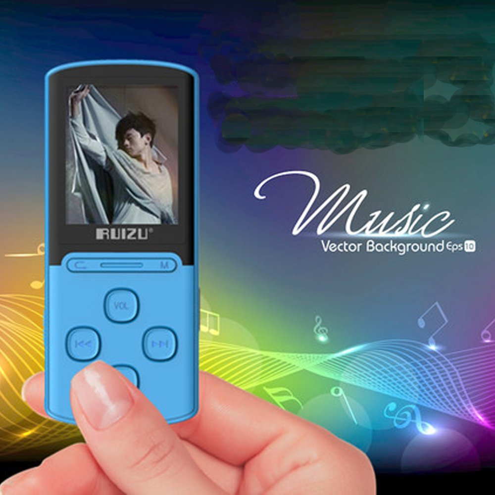 Original RUIZU X11 mp3 player 8GB Screen Music Player Support FM Radio Voice Recording Ebook Support 64GB Micro SD Card