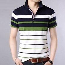 Summer polo shirt men Striped Classical causal Brand Short Sleeve polos para hombre Men clothes Male 2019 new