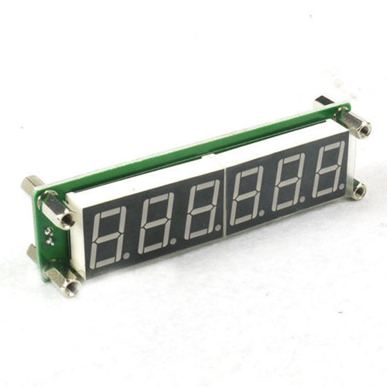 0.1 to 65 MHz RF 6 Digit Led Signal Frequency Counter Cymometer Tester meter Green