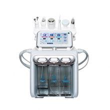 6 in 1 Hydro water diamond peeling machine/h2 o2 silk spa facial cleaning beauty device