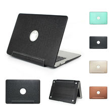 Luxury Book Style Flip Air 11 13 inch Laptop Bag Case For Apple MacBook Pro 13