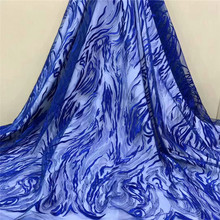 Latest Design Tulle lace Nigerian Mesh Lace Fabrics High Quality African Fabric Hot Sale for DressHX1370-1