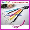 6 cores óculos de sol óculos de plástico óculos cadeia de óculos de L600