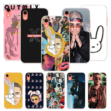 OUTMIX Bad Bunny phone case Back Cover For iPhone 8 8plus XS max XR XS 7 7plus 6 6s 6plus 5 5s SE Protective Cover dropship