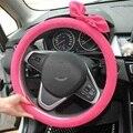 38 CM Mujeres de La Manera Linda Mariposa Roja Cubierta de volante para el coche envío gratis