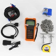 Portable Ultrasonic Liquid flowmeter TUF-2000H DN50-700mm TM-1 Transducer Handheld Digital Flow Meter 1 connector water liquid flow meter flowmeter 5 50l h