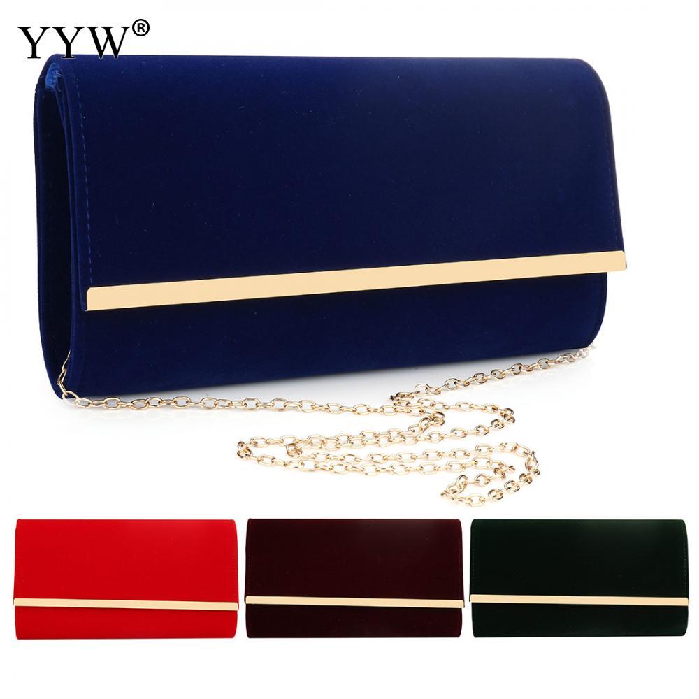 Blue Flannelette Clutch Evening Luxury Handbags Women Bags Designer Clutch Female 2019 Black Sac Main Femme Wedding Bag Purse