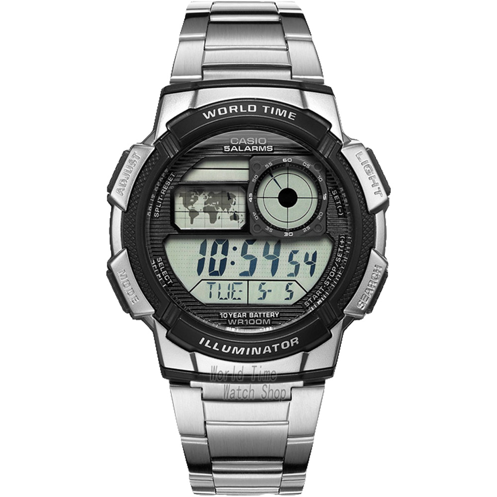 Casio watch Waterproof multi-functional sports male watch AE-1000WD-1A AE-1100WD-1A часы casio collection ae 1000wd 1a grey