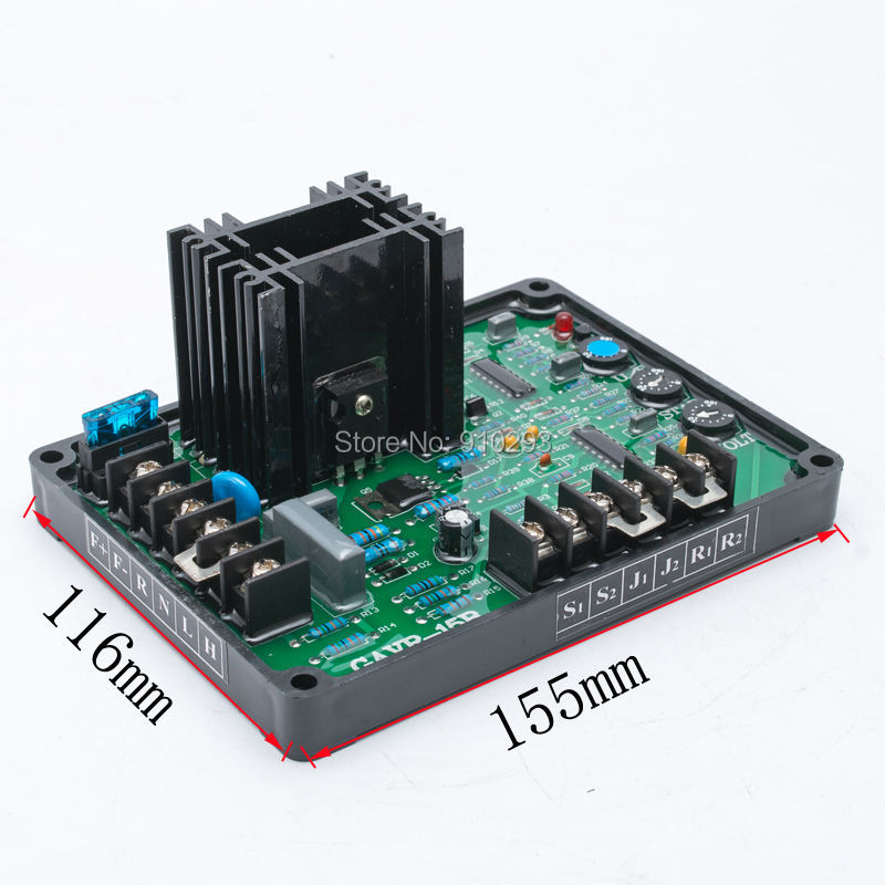 все цены на GAVR15B AVR Generator Automatic Voltage Regulator Module Universal Brushless Diesel Generator electric Controller Stabilizer