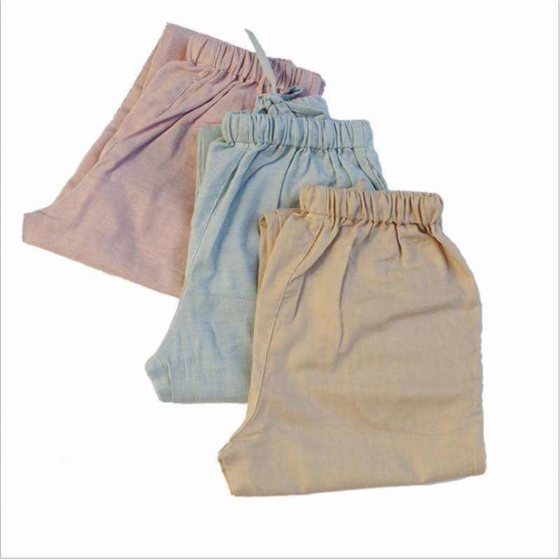 Autumn Women Casual Sleepwear Bottoms Ladies Long Length Nighty Pants Female  Cotton Trousers