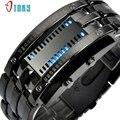 Excellent Quality Multi Function Men Watch Luxury Stainless Steel LED Digital Watch Date Bracelet Watches Reloj Hombre Jan 16