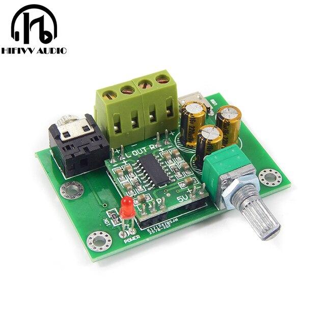 PAM8403 placa amplificadora de potencia digital, 2,0 canales, 3W, CC, 5V, nueva, gran oferta