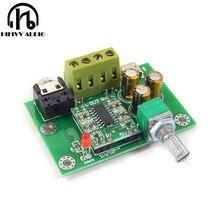 Venda quente nova alta fidelidade pam8403 placa amplificador de potência digital diy 2.0ch 3 w entrada dc5v versão atualização