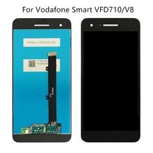 Para vodafone smart V8 VFD710 monitor LCD Inteligente com tela sensível ao toque Para vodafone VF710 peças de reparo do telefone móvel