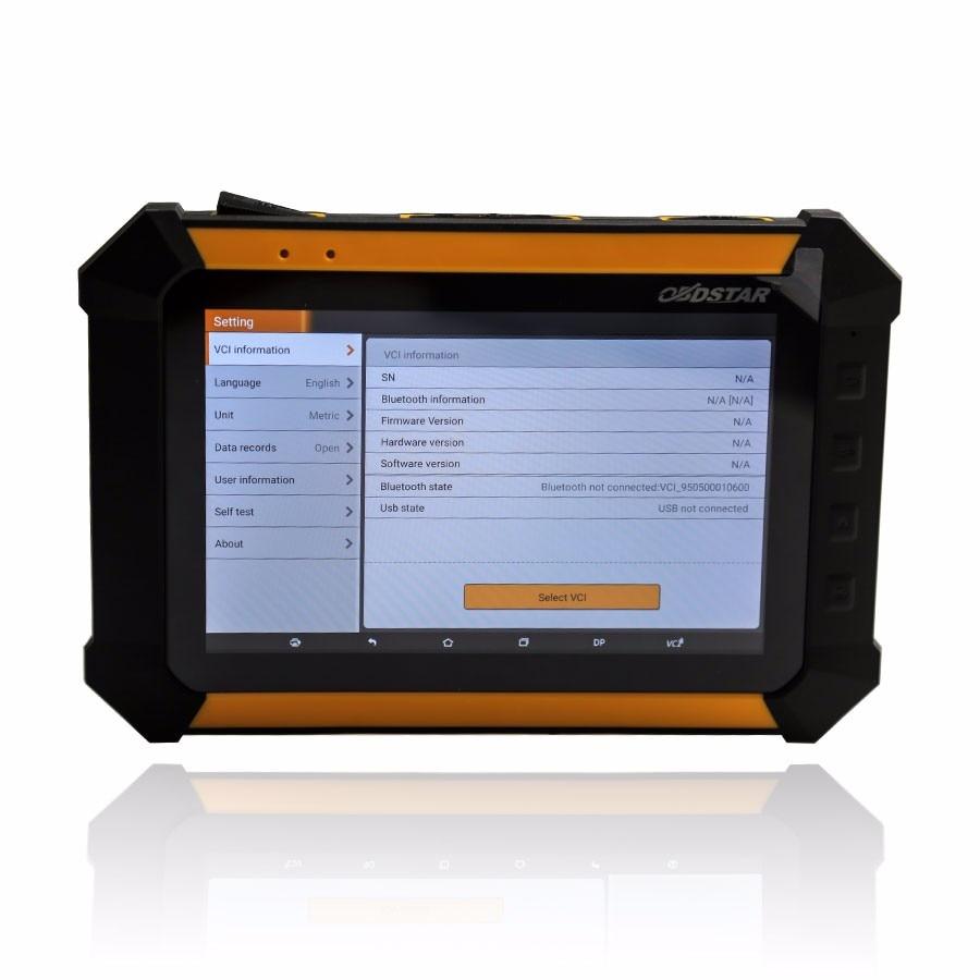 Original obdstar x300 dp standard-paket wegfahrsperre + luxuxautoentfernungsmesserjustage obdstar x300 dp kostenloser versand