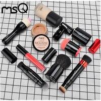 Makeup Brushes Fiber Metal Rod Telescopic Rotary Foundation Brush Powder Brush Cheek Red Brush Portable Multifunctional