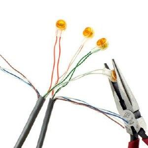 100 шт. Rj45 разъем обжимные соединительные клеммы K1 разъем Водонепроницаемая проводка Ethernet кабель телефонный шнур срок