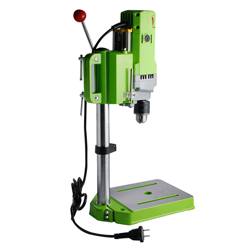 DANIU 1pc Mini 220V 710W Bench Drill Stand Electric Bench Drilling Machine Drill Chuck 1 13mm