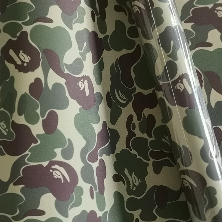 Hot Customized Tide Brand Wallpaper Bape Japanese Ease Ape Head College Student Dormitory Clothing Store Decoration Wallpaper