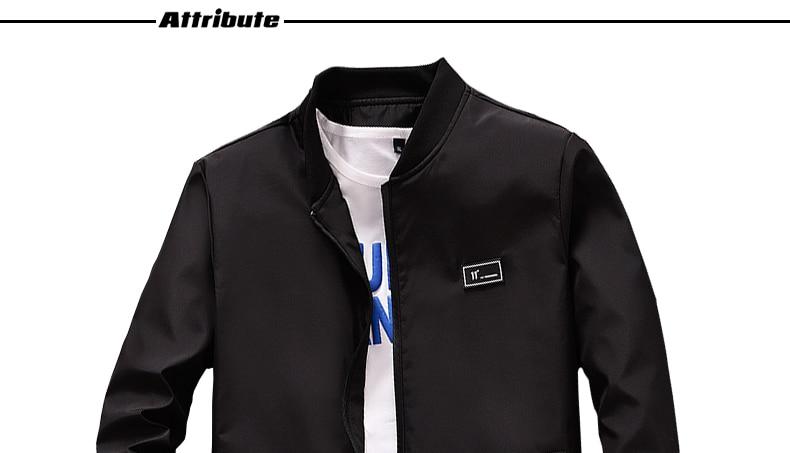 HTB1pL ToDlYBeNjSszcq6zwhFXaU BOSIBIO Summer Autumn Mens Jacket Stand Collar Windbreaker Male Blue Baseball Jackets Casual Thin High Quality Size M-4XL LH-2