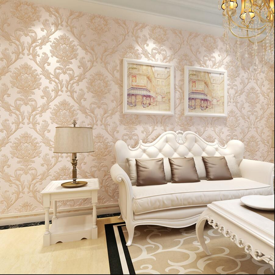 Wallpaper Dinding Vintage Labzada V16 10a5 Motif Murah Source Luxury Fashion 3d Three Dimensional Sculpture Non Woven