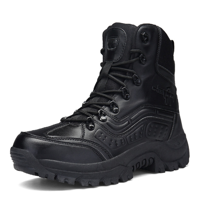 Men's Professional Tactical Hiking Shoes Waterproof Breathable  Combat Army Boots Botas Militares Sapatos Masculino