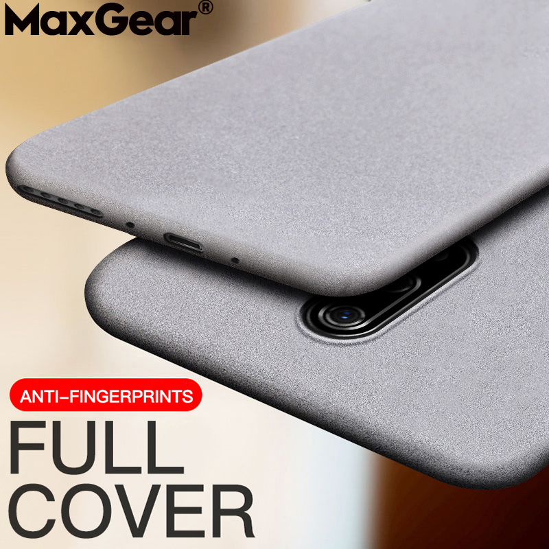 Matte Sandstone Silicone Phone Case For Oneplus Soft Frosted Skin Cover Coque Protection 5