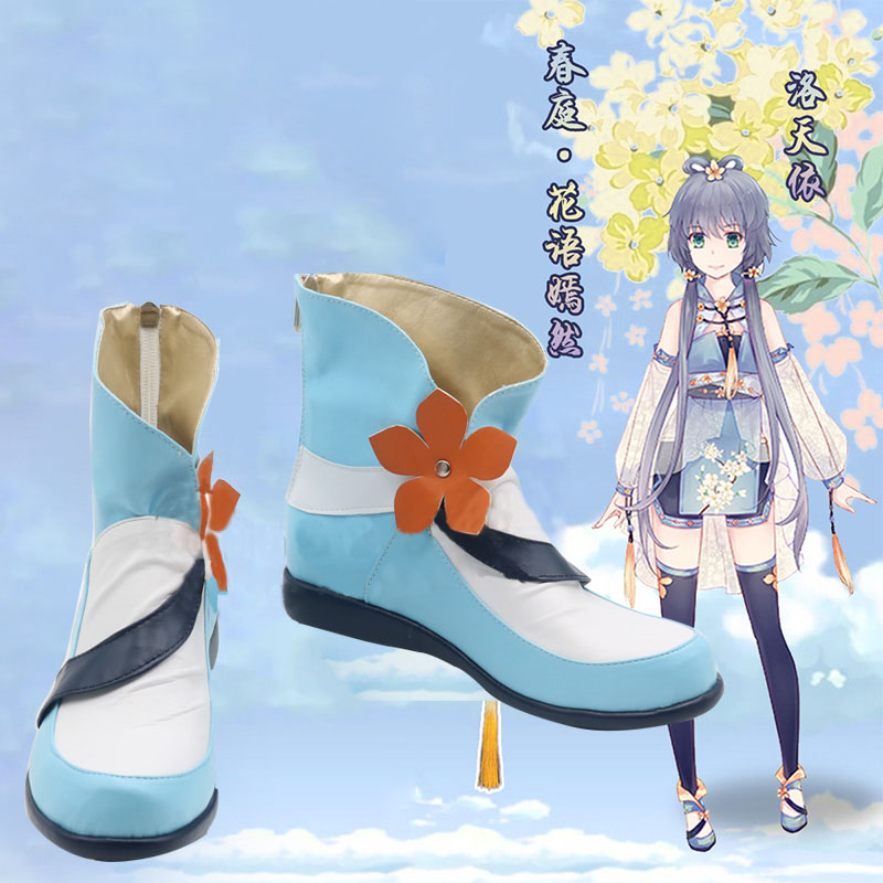 New Luo Tianyi Cosplay Shoes Anime boots Tailor Made