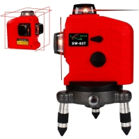 3D Laser Level 12 Lines 360 Degrees Horizontal And Vertical Laser Level Self Leveling Cross Line