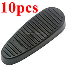 10Pcs Ribbed Stealth Slip on Rubber Buttpad Butt Pad for 6 Position Rifle Stock Hunting Accessories