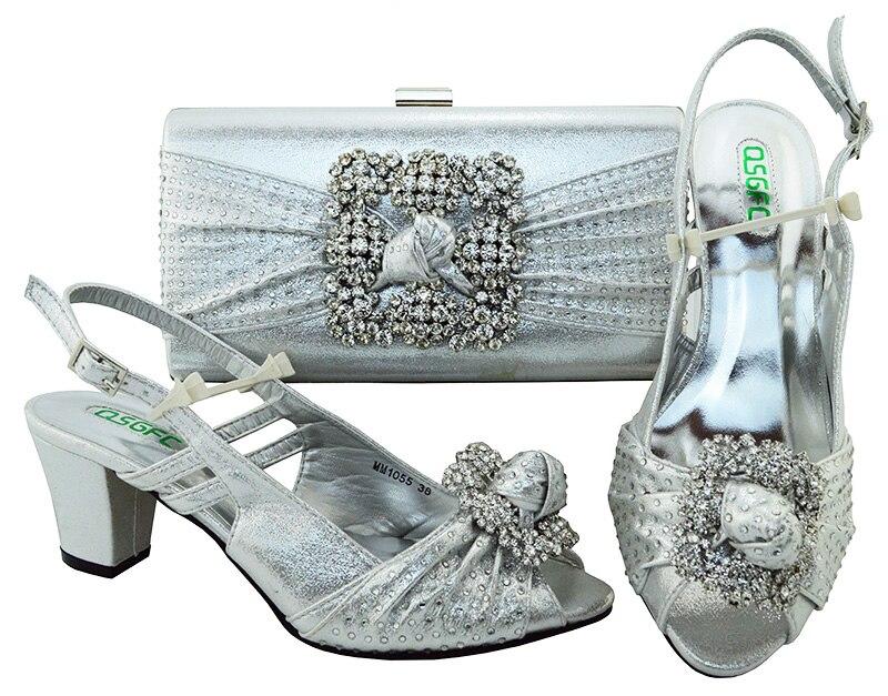 Горячая Распродажа; Лидер продаж; итальянская обувь на высоком каблуке и сумки набор для Африки Женская партия стиль туфли-лодочки высокая ...