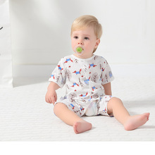 Kaguster Cotton Newborn Baby boy romper onesie Girl fox Print Rompers Unisex clothes Bebek tulum Sleepsuit Jumpsuit
