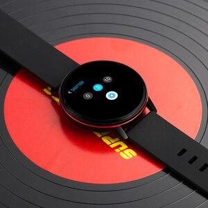 Image 5 - חכם צמיד N58 1.22 אינץ עגול מגע מסך כושר שעון מוסיקה נגן עם לב קצב ניטור לחץ דם זיהוי