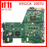 original KEFU X551CAP For ASUS X551CA F551CA Laptop motherboard F551CA mainboard REV2. 1007U 4GB Test work 100%