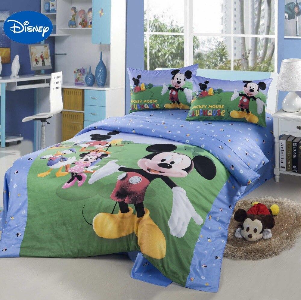①Dibujos animados de Disney Mickey Mouse Club House Ropa de cama ...