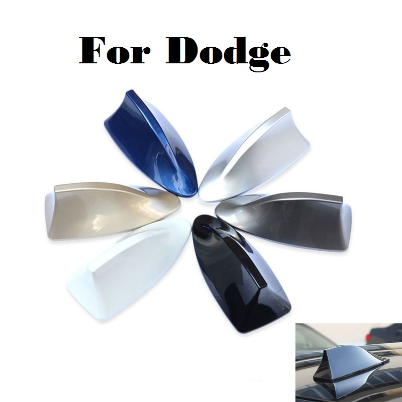 2017 car styling Gray/Blue/Gold/Silver/Black/Red/White Car Antenna Radio Fit For Dodge J ...