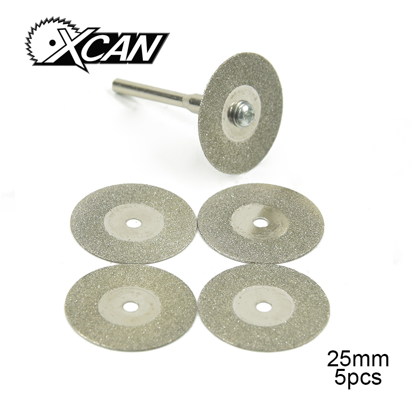 Xcan 25mm Rotary Tool Accessory Cutting Blades Circular Saw Blade For Plastic Metal Cutting Disc