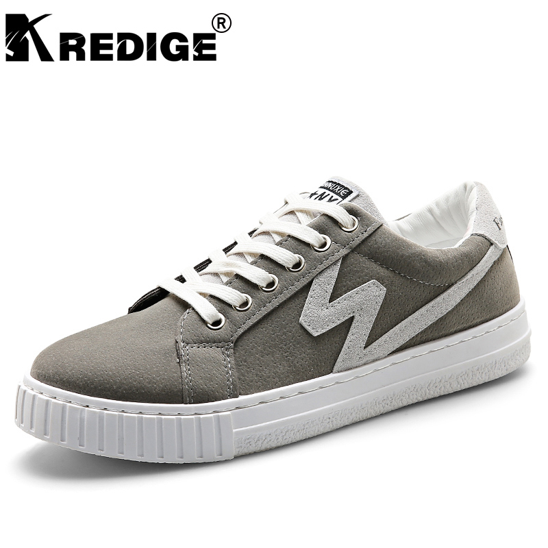 KREDIGE Breathable Low Canvas Shoes Mens Hard-Wearing Non-Slip Soles Shoes Geometric Stitching Male Casual Shoes Big Size 39-44 kredige anti odor zip tide leather shoes hard wearing mens casual shoes pu breathable waterproof plate shoes british style 39 44