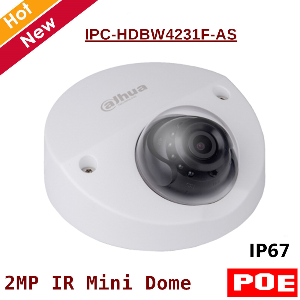 2MP English POE Dahua IP Camera IPC-HDBW4231F-AS IR distance 20m 1080P Security Camera Support sd card 128G Built in mic2MP English POE Dahua IP Camera IPC-HDBW4231F-AS IR distance 20m 1080P Security Camera Support sd card 128G Built in mic