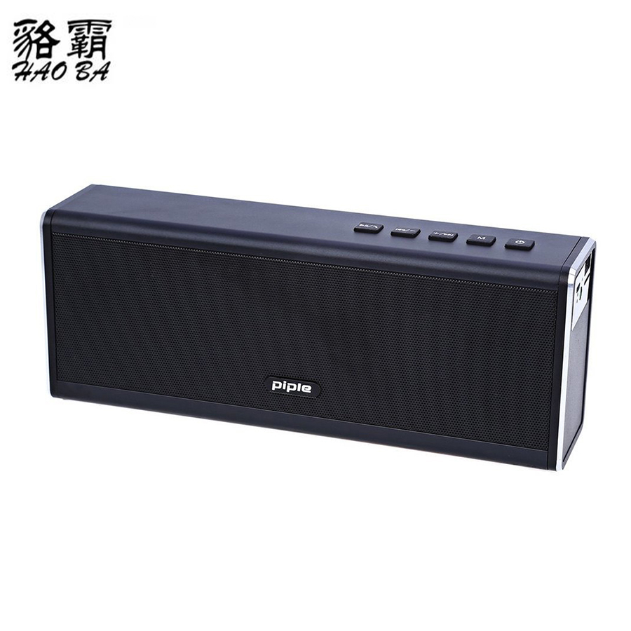HAOBA HIFI Wireless Bluetooth Speaker 20W Stereo Super Bass Caixa Sound Box Hand Free for Phone power bank 20W 4000mah kr8800 portable bluetooth v3 0 led speaker wireless nfc fm hifi stereo loudspeakers super bass caixa se som sound box for phone