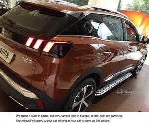 Image 5 - Heißer nerf bar fuß bord seite schritt Für Peugeot NEUE 3008 2017 2020, beliebteste stil, heißer verkauf in China als sehr stabile qualität