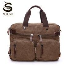 Холстинные многофункциональные дорожные сумки для мужчин сумки ручной для путешествий для ноутбука