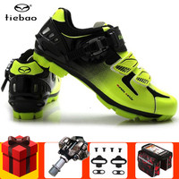 TIEBAO Cycling Shoes add SPD pedal set 2019 men sneakers women sapatilha ciclismo mtb zapatillas deportivas hombre Bike Shoes