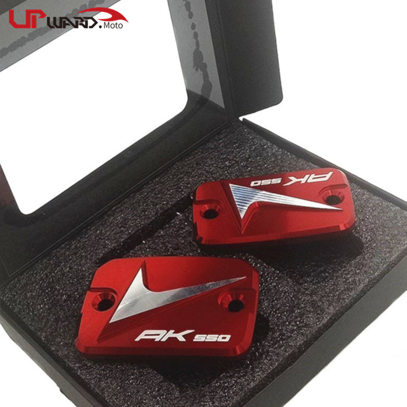For <font><b>KYMCO</b></font> AK550 <font><b>AK</b></font> <font><b>550</b></font> 2017 2018 Motorcycle High quality CNC Aluminum Front Clutch Brake Fluid Reservoir Cover Cap image