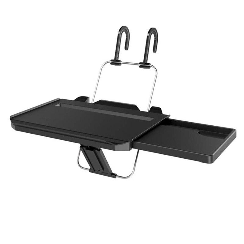 Многофункциональные автомобильные складные подставки для ноутбука, компьютера, Нескользящие крючки, держатель для стаканов, подставка на
