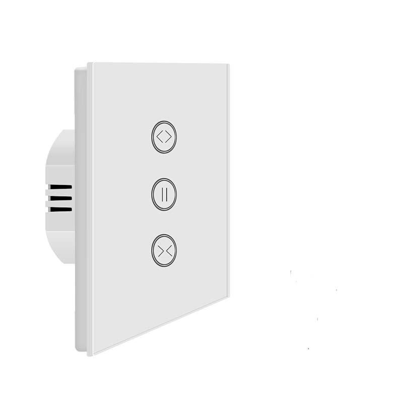 Commutateur de rideau électrique WiFi contrôle APP tactile par écho Alexa pour rideau motorisé, rideau de salon, volet de fenêtre