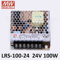 Meanwell LRS 100 Switching Power Supply 5V 12V 24V 36V 48V 100W DC power supply Original MW Taiwan Brand LRS 100 24/12