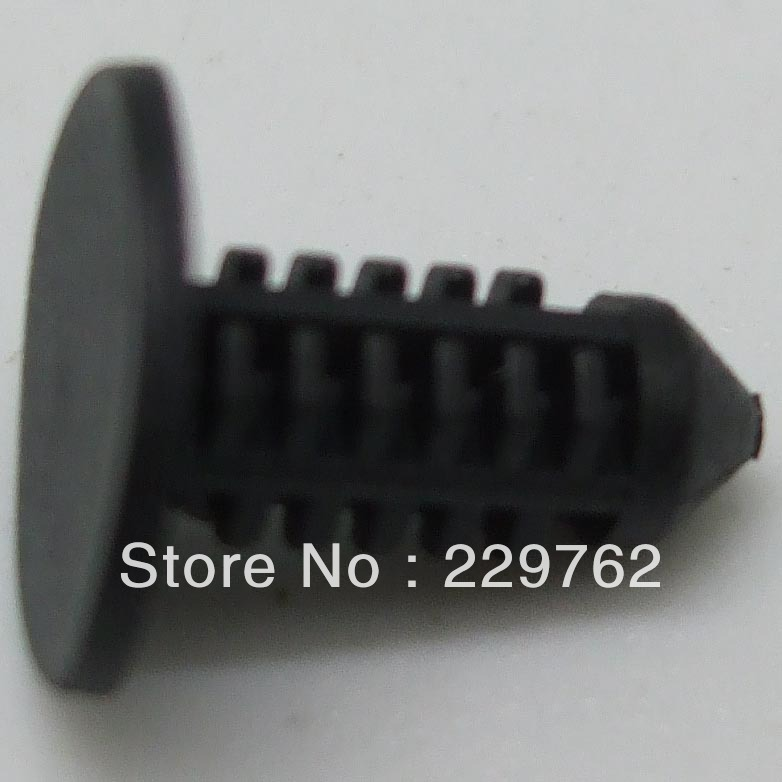 100PCS Free Shpping Nylon Black Faxia Retainer For Ford:N803170-S for Mustang & For Capri 1984-On Plastic Clip Auto Plastic