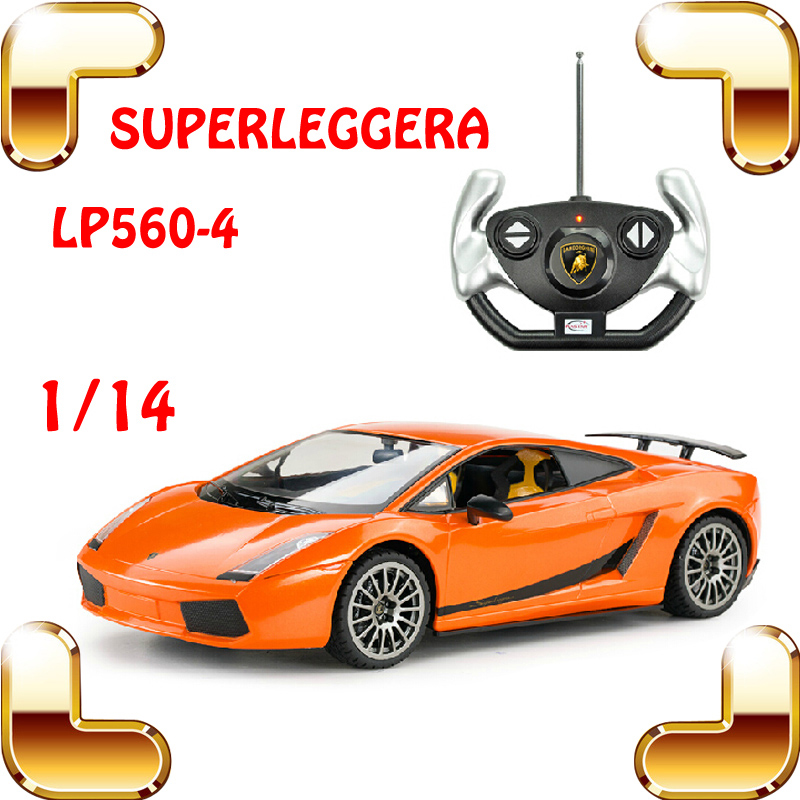 ФОТО New Year Gift 1/14 LP560-4 RC Radio Control Car Roadster Model Vehicle Electric Toy Super Light Drift Speed Race Present Diecast